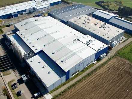 Modernes Gewerbeareal mit 16.500 m² Produktions- und Lagerflächen zu vermieten!