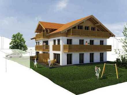 RESERVIERT 3-Zimmer-EG-Wohnung in Bernau am Chiemsee