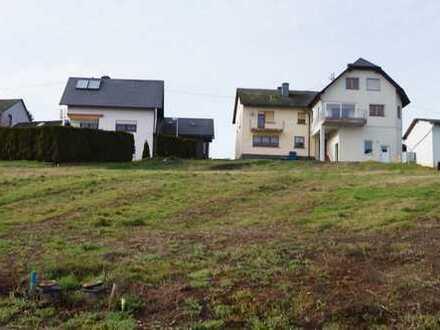 Wunderschönes Grundstück in Bekond mit unverbaubarem Blick zu verkaufen
