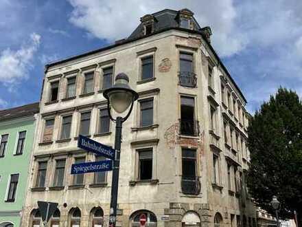 Bahnhofshotel Zwickau mit Ladenlokal sucht kreativen Investor!