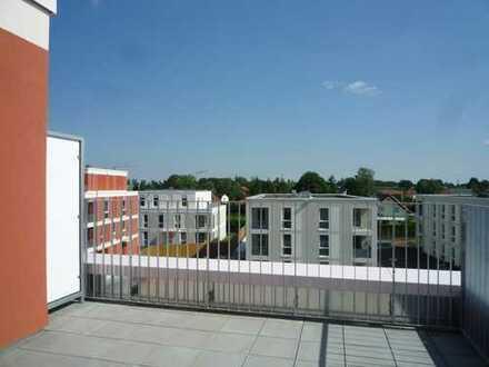 Erstbezug: Lichtdurchflutete 5-Zimmer-Maisonette-Wohnung mit einem Balkon und Dachterrassen