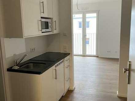 Neubau ! TOP moderne 1 Zimmer Studio Wohnung mit franz. Balkon