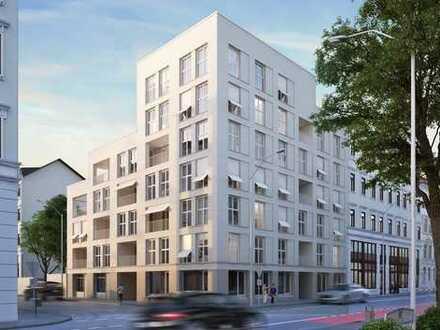 Gut geschnittene 2-Raumwohnung im attraktiven Neubau im Herzen von Leipzig