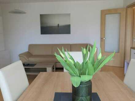 Attraktive, moderne 2-Zimmer-Wohnung (gehobene Ausstattung / großzügiger Balkon) in Top-Lage Ettings