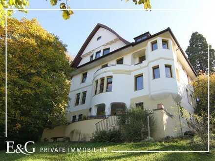 Wunderschöne Stadtvilla mit Pavillon in beherrschender Aussichtslage in Stuttgart-Süd