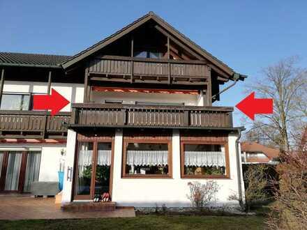 Möbliertes und gepflegtes Appartement mit Balkon im Westen von München, in Eichenau