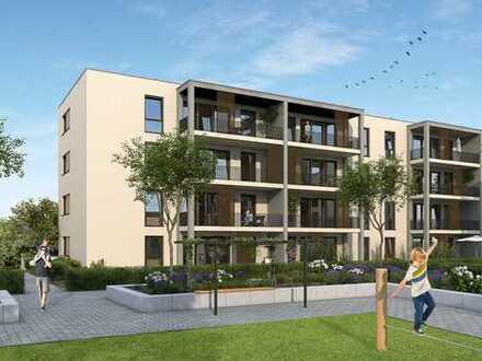 Sehr schöne 3-Zimmer-Wohnung in Kenzingen - Wohnanlage mit Wassergarten