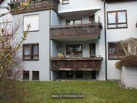 RESERVIERT Schicke 2-Zi.-EG Wohnung mit großem Balkon