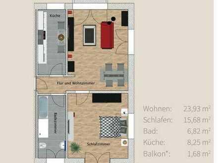 Erstebezug / Neubau / top modern / 2 Zimmer