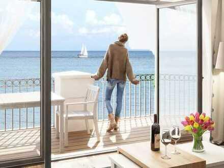 Ihr Penthouse-Traum mit Süd-Dachterrasse und absolut unverbaubaren Meerblick!!!!