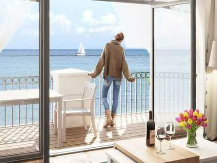 Ihr Penthouse-Traum mit Südwest-Dachbalkon und absolut unverbaubaren Meerblick!!!!