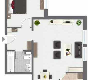**Attraktive 2-Zimmerwohnung in optimaler Verkehrslage - Für Kapitalanleger oder Selbstnutzer**
