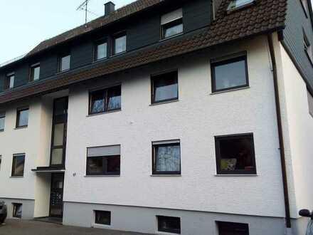 Helle 1-Zimmer-Wohnung mit Balkon und Einbauküche in ruhiger Lage in Ludwigsburg-Ossweil