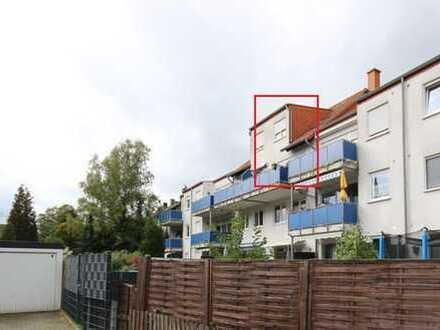 Stylisch und modern mit großer Balkon-Terrasse