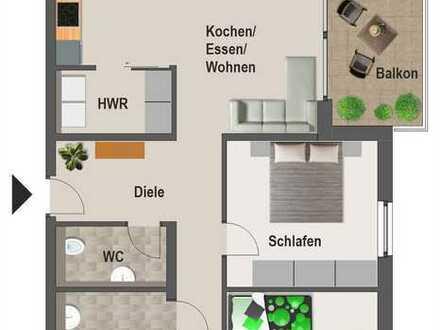 3-Zimmer Wohnung - Neubau Erstbezug
