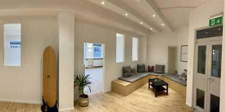 Einmalige Gelegenheit: Büroeinheit mit Umnutzungsmöglichkeit zu Wohnraum (und 330qm Gartennutzung)