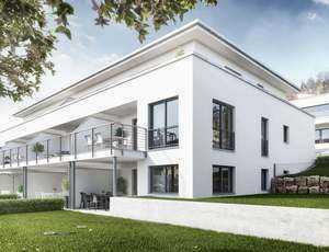Exklusive, neuwertige 2-Zimmer-EG-Wohnung mit Einbauküche und Tiefgaragenstellplatz in Würzburg