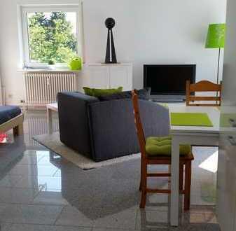 Möbilierte, helle ein Zimmer Wohnung in Ebersbach an der Fils