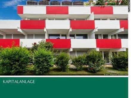 Für Kapitalanleger! 2-Zi-ETW, Südbalkon in grüner Stadtoase, nahe bei BMW