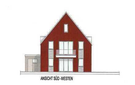 Erstbezug: Neubau 3-Zimmer-Wohnung mit Terrasse und Gartennutzung in Hude