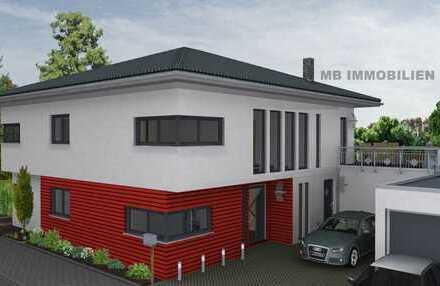 Moderne Stadtvilla in Oberhausen-Alsfeld ruhige Lage inkl. Grundstück, Fußbodenheiz, schlüsselfertig