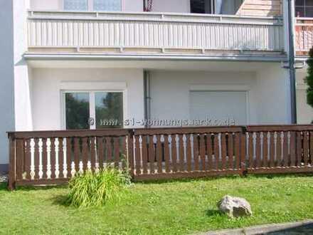 Tolle Familienwohnung mit Terrasse im Wohnpark Bernsbach!