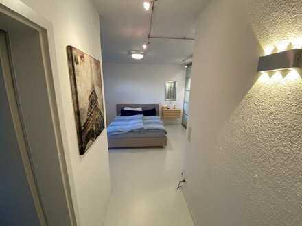 Möblierte 2,5 Zimmer-Wohnung mit Garten und Stellplatz in Gravenbruch
