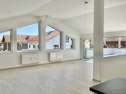 Einzigartige Wohnoase! Hochwertige 4-Zimmer-Dachterrassenwohnung, Holzkirchen