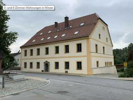 Erstbezug: freundliche 3-Zimmer-Wohnung in Winzer