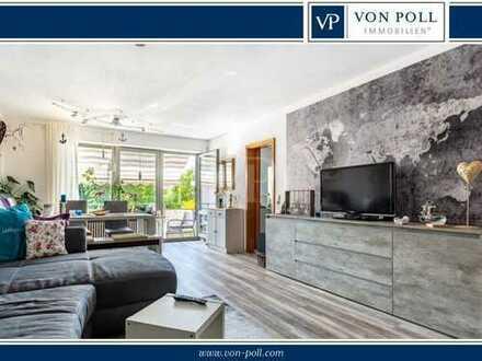 Bismarckviertel: Schicke und helle 3-Zimmer-Wohnung