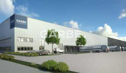 Direkt vom Eigentümer: ca. 14.700 m² Hallenfläche, teilbar, 15 Rampen, 12m UKB, im Norden von Berlin