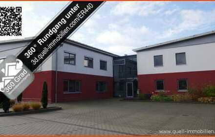 Hochwertige Gewerbeimmobilie bestehend aus 1050 qm Büro und 620 qm Lagerhalle in Geisa zu verkaufen