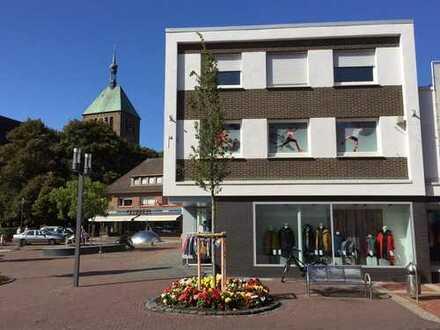 Lichtdurchflutete zentrale, renovierte 4 Zimmer-Wohnung im Zentrum von Vreden