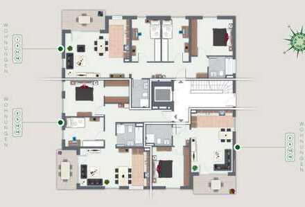 Stilvolle 2-Zimmer Gartenwohnung in einer familienfreundlichen Anlage