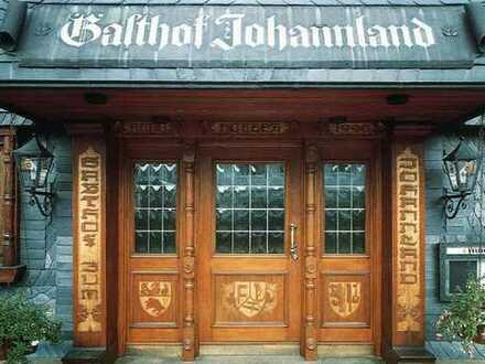 """Verpachtung des traditionsreichen Gasthof """"Zum Johannland""""/ Haus der Hochzeiten"""
