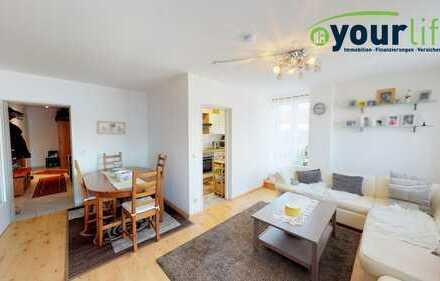 Kapitalanlage! Schöne 2-Zimmer-Wohnung mit großer Dachterrasse!