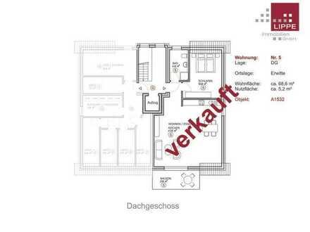 Verkauft! 2-Zimmer-ETW mit Balkon - Wohnung 5