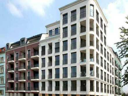 Exklusive Maisonette-Wohnung mit Terrasse und Blick über die Dächer der Stadt