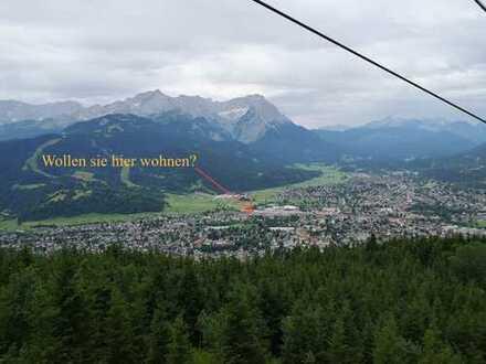 Erstbezug: Stilvolle 2-Zimmer-EG-Wohnung mit Terrasse und Garten in Garmisch-Partenkirchen