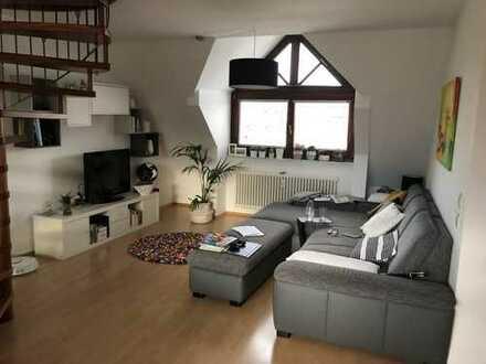 Super schöne 2-Zimmer-Maisonette-Wohnung mit Balkon in der Weststadt