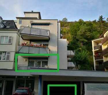 Helle Wohnung mit TG Stellplatz, Balkon und Blick ins Grüne