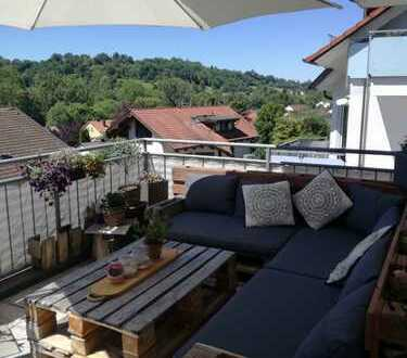 Sonnige 3-Zimmer-Wohnung mit Balkon und EBK in Schwäbisch Gmünd