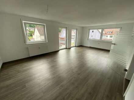 Moderne und frisch renovierte 3 Zimmer Wohnung im Zentrum von Nusplingen