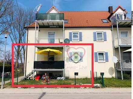 3 ZKB Gartenwohnung mit 60qm in Lagerlechfeld!