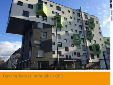 """Wohnen im Architekturjuwel """"RheinLogen"""" Bonn-Zentrum: 3 Zimmer auf ca. 95 m²!"""