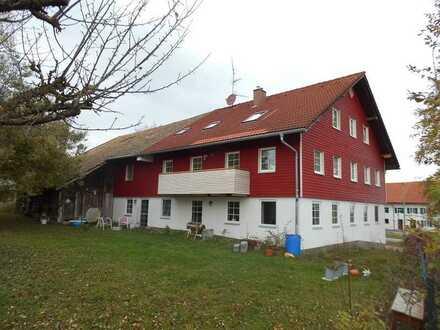 Hofstelle (MFH) 3 Wohnungen bei Obergünzburg (ideal für Selbstversorger)
