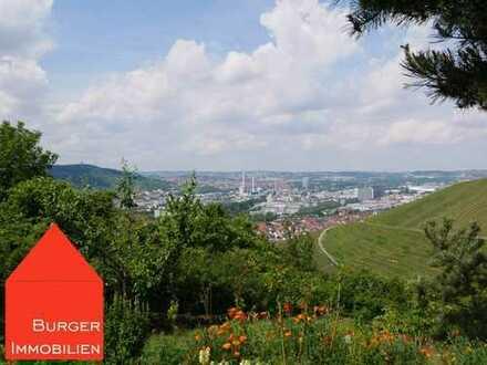 Traumhafter Garten unterhalb der Grabkapelle auf dem Württemberg, herrliche Lage, geniale Aussicht