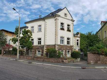 Traumhafte 4-Raum-Maisonettewohnung mit Blick über Freiberg