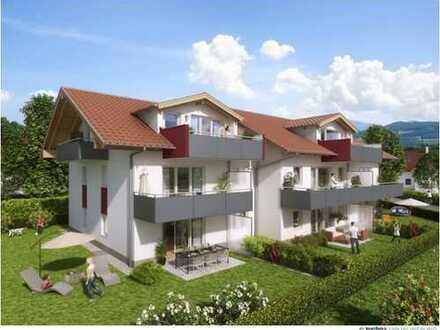 Kleines und feines Neubauprojekt in schöner und zentraler Wohngegend! 3-Zimmer DG-Wohnung mit Dachte