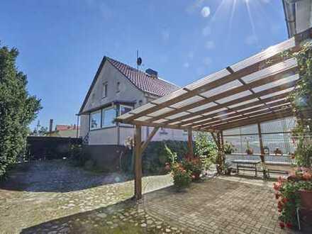 Große Scheune mit Stall - Doppelhaushälfte in ruhiger Lage nahe dem Beetzsee
